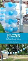 best 25 frozen balloon decorations ideas on pinterest balloon