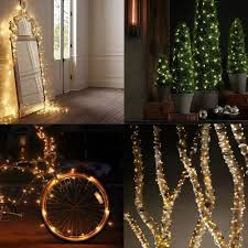 amazing of tree lights and outdoor decorations lighted