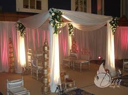 Wedding Drape Hire Floral Drape Mandaps Hire Indian Wedding Packages Leicester