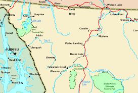 bc map regional map of northwestern bc