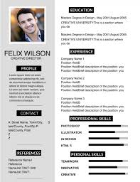 Best Resume For Management Position by 50 Most Professional Editable Resume Templates For Jobseekers