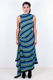 asymmetrical dress mission blue asymmetrical dress mona lucero fashion design as