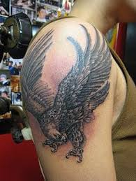 eagle u0026 cross tattoo by george carter green man tattoo com 120