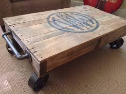 railroad coffee table cart home design ideas and pictures