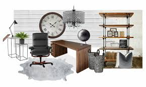 office rustic modern office