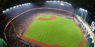 led ball field lighting musco press release minute maid park houston astros musco sports