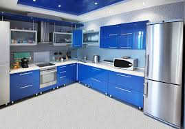 blue kitchen cabinet design blue kitchen cabinets designs that you can apply in your own