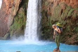 Arizona Waterfalls images Few people get to see the grand canyon 39 s hidden waterfall of jpg