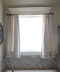 Shade Curtains Decorating Bathroom Bathroom Window Curtains Equipped Drapes Design