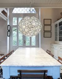 Round Capiz Chandelier Lighting Beautiful Capiz Shell Chandelier For Home Ideas Round