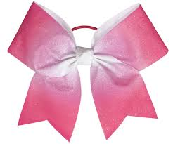 hair bow chassé ombre performance hair bow omni cheer