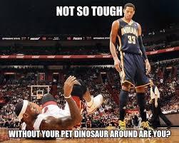 Chris Bosh Dinosaur Meme - saving supersonics history best memes of the 2011 12 nba season