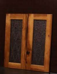 kitchen glass wall cabinets set of 2 kraftmaid kitchen praline hickory glass doors for