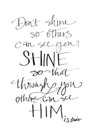 shine quote cs lewis simplified bee