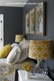 beautiful ideas grey yellow bedroom cheerful sophistication 25