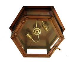 Flush Mounted Ceiling Lights by Six Sided Flush Mount Ceiling Light New Orleans Gas Lights