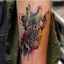 Giraffe Tattoos Meaning 12 Giraffe Tattoos Designs