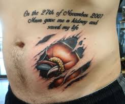 voodoo heart tattoo 10 coolest tattoos of instructions organ donation tattoo and