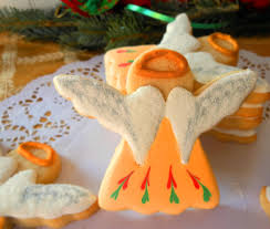 my cookie clinic christmas angel cookies wings