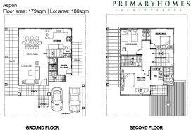 2 storey residential house floor plan u2013 house design ideas