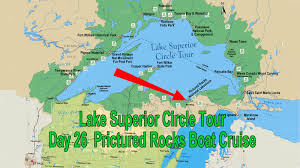 Map Of Lake Superior Pictured Rocks Boat Cruise Michigan July 26 Lake Superior