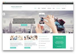 modern web design consulting business theme college websites