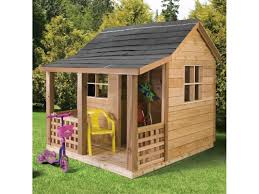 kid u0027s wooden cubby house deluxe cubby houses sheds u0026 carports