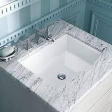 home depot bath sinks kohler archer vitreous china undermount bathroom sink with overflow