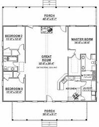 3 Bedroom Floor Plans With Garage Country Style House Plans 1700 Square Foot Home 1 Story 3