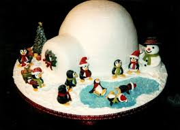 Christmas Cake Decorations Shop by Best 25 Igloo Cake Ideas On Pinterest Pingu Cake Penguin Cakes