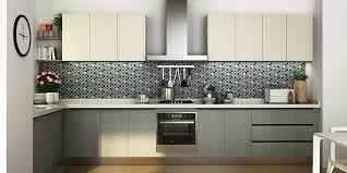 what color are modern kitchen cabinets modern melamine kitchen cabinet in white grey color op15