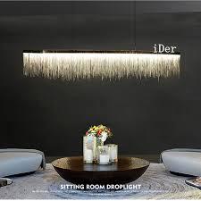 hängeleuchten wohnzimmer postmodernen designer pendelleuchten nordic quaste restaurant
