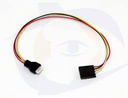 camera cable 4 wire 6 pin super compact to immersionrc fatshark
