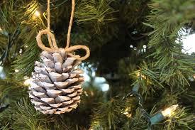 do it yourself divas diy snow pinecone ornament