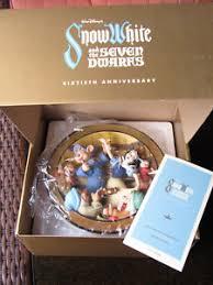 60th anniversary plates le disney snow white the 7 dwarfs 60th anniversary 3d plate a
