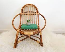 bamboo chair bamboo chair etsy
