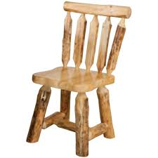 Pine Dining Chair Rustic Pine Kitchen Table Minnesota Pine Log Dining Room Furniture