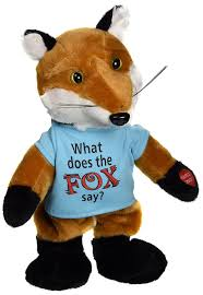 Singing Stuffed Animals Chantilly The Fox Sings What Does The Fox Say