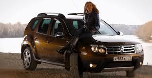 анастасия трегубова тестирует Renault Duster с коробкой автомат