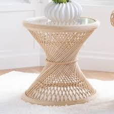 Rattan Accent Table Rattan Accent Table Wayfair