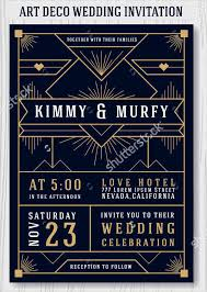 deco wedding invitations 10 deco wedding invitations free psd vector ai eps format