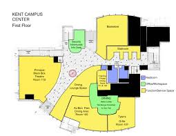 Community Center Floor Plans by Kent Campus Center