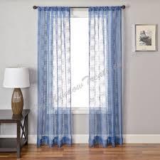 Sheer Blue Curtains Sheer Navy Blue Curtains Curtains Wall Decor