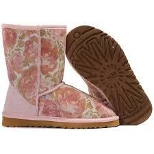 s pink ugg boots sale ugg flower boots 5801 pink http uggbootshub com