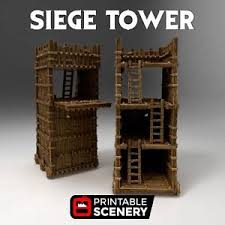 siege tower definition siege tower 28mm tabletop dwarven forge d d terrain wargaming
