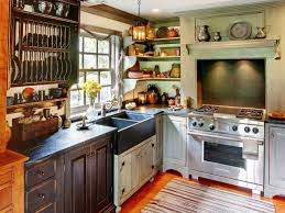rustic country kitchen ship themed oak wood island white finishing