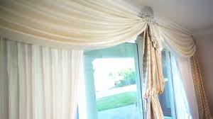 patio door curtains elegant window treatments for sliding glass