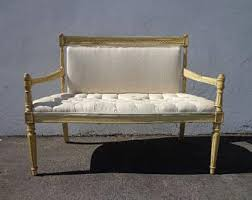 Chippendale Loveseat Victorian Sofa Etsy