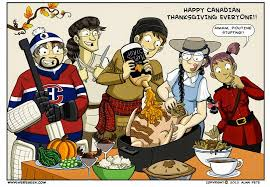 happy thanksgiving to all fellow canadians the piper blush