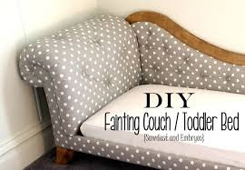 How To Upholster A Sofa by Toddler Bed Fainting Couch Tufting U0026 Upholstery Reality Daydream